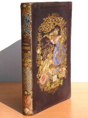 Les Fleurs historiques, Maurice Alhoy, Jules Rostaing, 1852, reliure illustrée